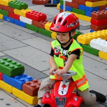 Bild: Bobby-Car-Racing-Track