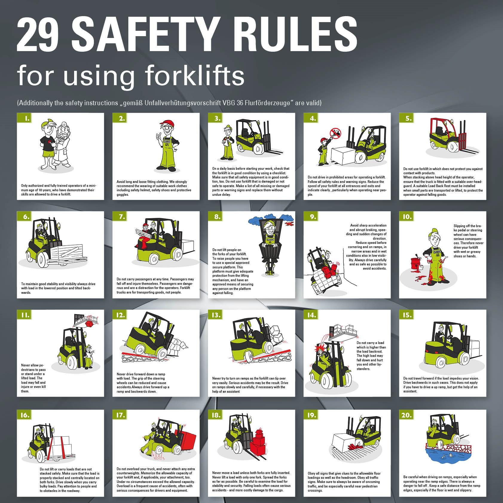 Bild: Safety-Poster Clark