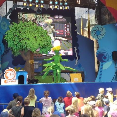 Bild: Kika Tour mit Löwenzahnshow