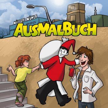 Bild: Malbuch Müllers MÜhle